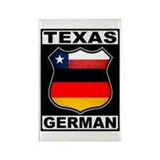 Texas German American Magnets