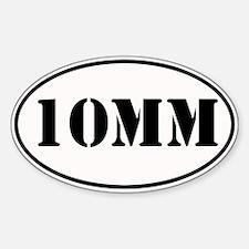 10mm Oval Design Sticker (Oval)