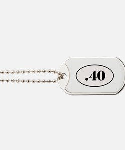 .40 Oval Design Dog Tags