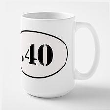 .40 Oval Design Mug
