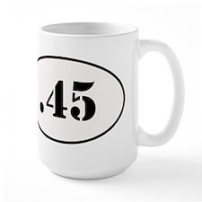 .45 Oval Design Mug