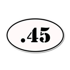 .45 Oval Design Wall Decal