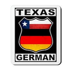 Texas German American Mousepad
