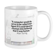 Alan Turing Historical Coffee Mugs