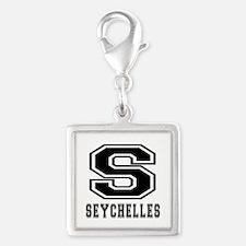 Seychelles Designs Silver Square Charm