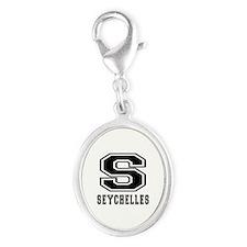 Seychelles Designs Silver Oval Charm