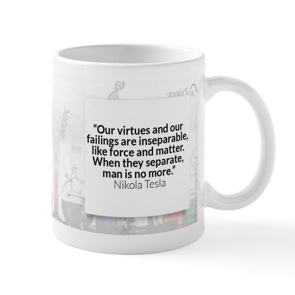 936896547 CafePress Nikola Tesla Historical Mugs 11 oz Ceramic Mug