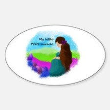 My Little PCOS Miracle Decal