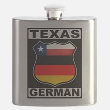 Texas German American Flask