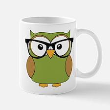 Funky Hipster Owl Mugs