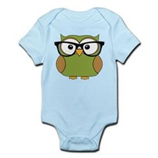 Funky Hipster Owl Body Suit