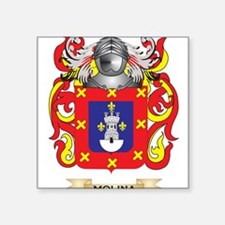 Molina Coat of Arms - Family Crest Sticker