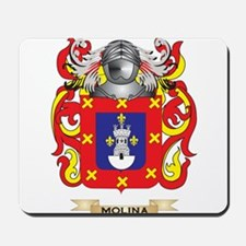 Molina Coat of Arms - Family Crest Mousepad
