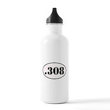 .308 Oval Design Water Bottle