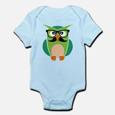 Hipster Owl Body Suit