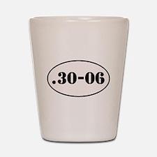 .30-06 Oval Design Shot Glass