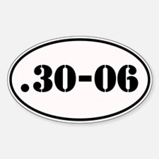 .30-06 Oval Design Decal