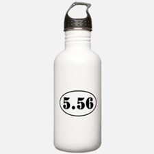 5.56 Oval Design Water Bottle