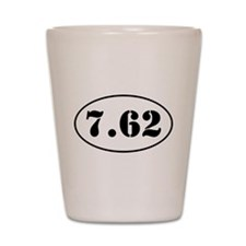 7.62 Oval Design Shot Glass