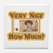 How Much? Tile Coaster