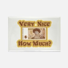 How Much? Rectangle Magnet