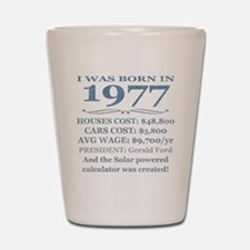 Birthday Facts-1977 Shot Glass