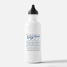 Birthday Facts-1977 Water Bottle