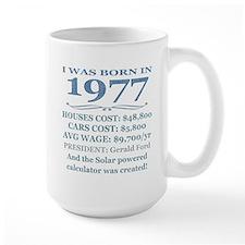 Birthday Facts-1977 Mugs