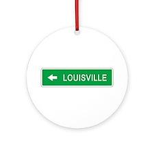 Roadmarker Louisville (KY) Ornament (Round)