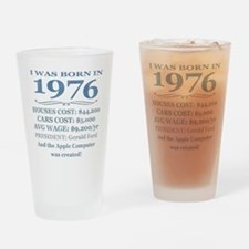 Birthday Facts-1976 Drinking Glass