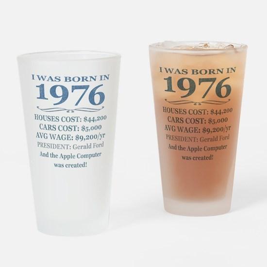 Birthday Facts-1976 Drinking Glass