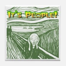 It's People! Tile Coaster