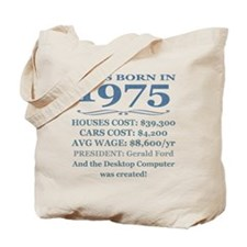 Birthday Facts-1975 Tote Bag