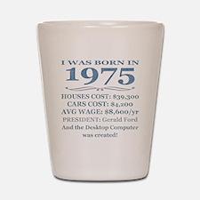 Birthday Facts-1975 Shot Glass
