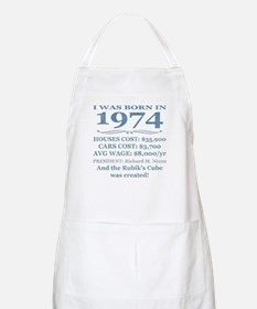 Birthday Facts-1974 Apron