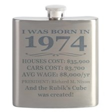 Birthday Facts-1974 Flask