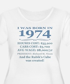 Birthday Facts-1974 Plus Size T-Shirt