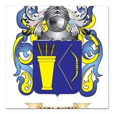 Moloney Coat of Arms - Family Crest Square Car Mag