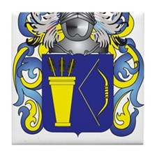 Moloney Coat of Arms - Family Crest Tile Coaster
