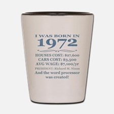 Birthday Facts-1972 Shot Glass