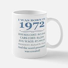Birthday Facts-1972 Mugs