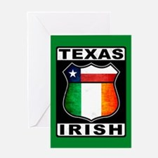 Texas Irish American Greeting Cards