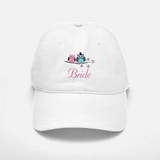 Bride Wedding Owls Baseball Baseball Cap