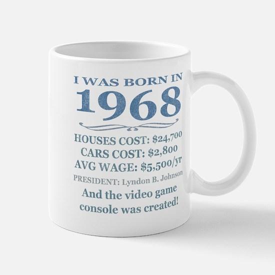 Birthday Facts-1968 Mugs