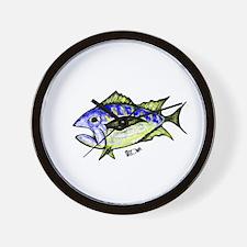 Tuna Abstract 3 Wall Clock