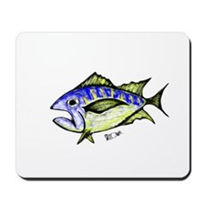 Tuna Abstract 3 Mousepad