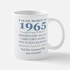 Birthday Facts-1965 Mugs