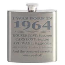 Birthday Facts-1964 Flask