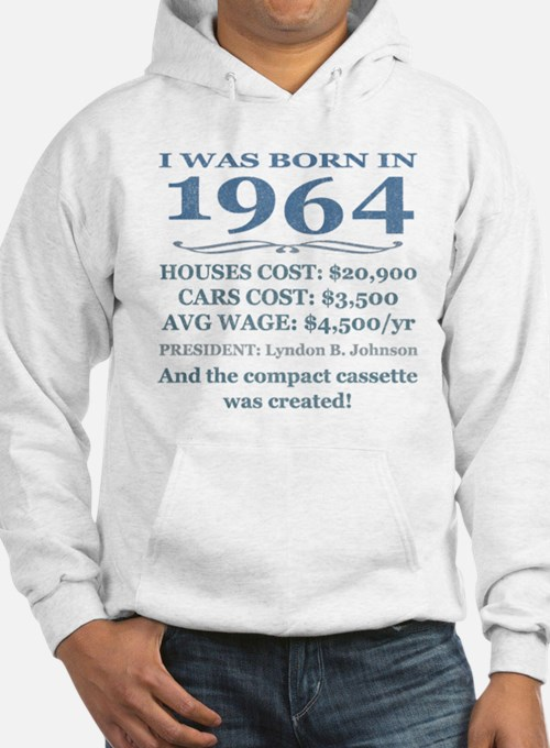 Birthday Facts-1964 Hoodie