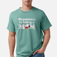 Happiness is a Mom Mens Comfort Colors Shirt